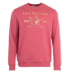 True Religion Chad Core Sweatshirt - Raspberry