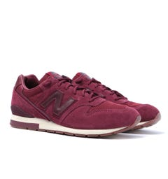 New Balance 996 NB Burgundy Suede Trainers