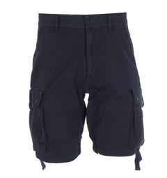 Marshall Artist Garment Dyed Navy Cotton Shorts