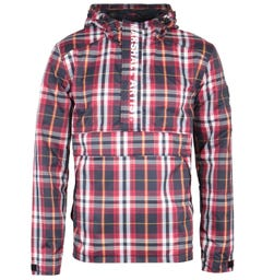 Marshall Artist 318 Ripstop Red Checked Overhead Jacket