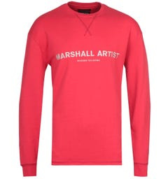 Marshall Artist Non Ath Red Sweatshirt