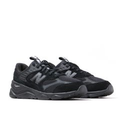New Balance X-90 Tonal Black Suede Trainers