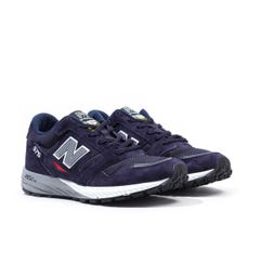 New Balance Trail 575 Made In England Navy with Grey Suede & Mesh Trainers