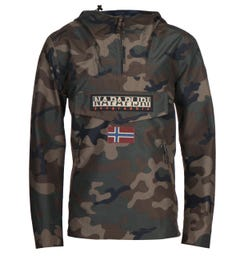 Napapijri Rainforest Green Camo Jacket