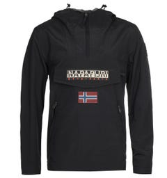 Napapijri Rainforest S Pocket Black Jacket