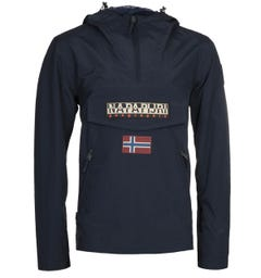 Napapijri Rainforest S Pocket Navy Jacket