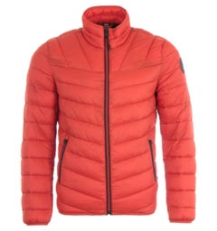 Napapijri Aerons Short Jacket - Orange