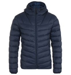Napapijri Aerons Blue Marine Short Hooded Jacket