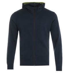 Napapijri Ze-K306 Hooded Sweatshirt - Marine Blue