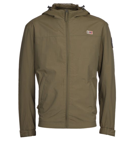Napapijri Shelter Green Jacket