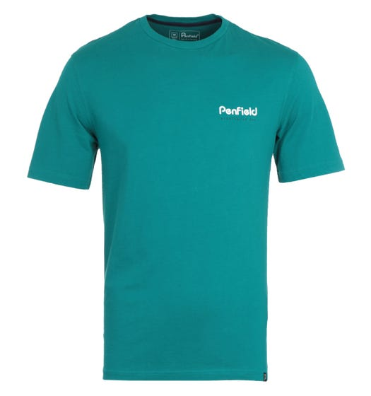 Penfield Perkins Dark Teal T-Shirt