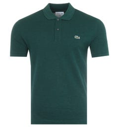 Lacoste Slim Fit Pique Polo Shirt - Forrest Green