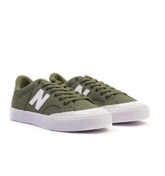 New Balance Pro Court Canvas Trainers - Green