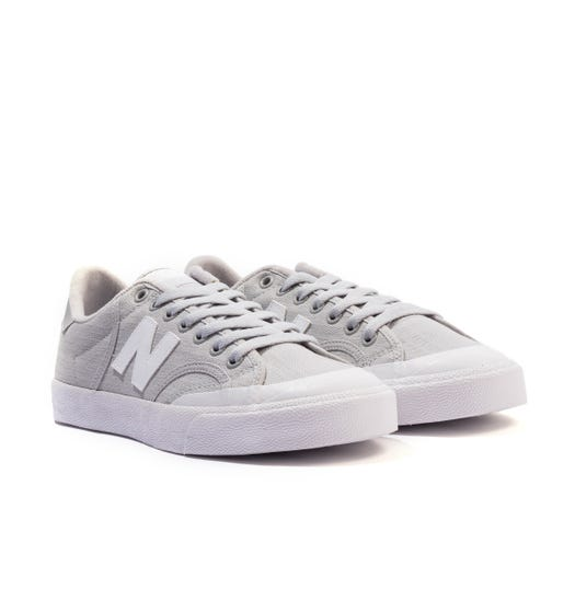 New Balance Pro Court Canvas Trainers - Grey