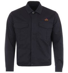 PS Paul Smith Embroidered Octopus Jacket - Dark Navy