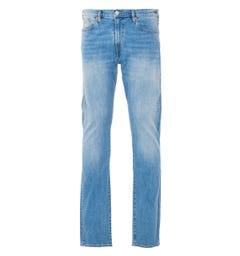 PS Paul Smith Stretch Tapered Fit Jeans - Washed Blue