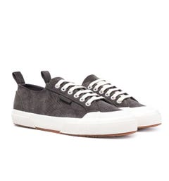 Superga 2372 Velvet Coruroy Military Green Trainers