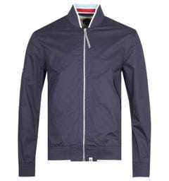 Pretty Green Navy Richard Bomber Jacket