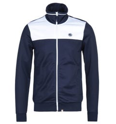 Pretty Green Navy Zip Two Colour Track Top