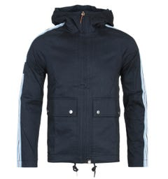 Pretty Green Navy Hooded Jacket