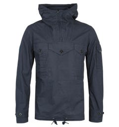 Pretty Green Overhead Pocket Detail Navy Jacket