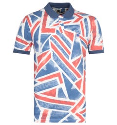 Pretty Green Union Jack Print Polo Shirt
