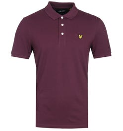 Lyle & Scott Polo Shirt - Burgundy