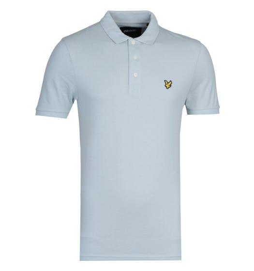 Lyle & Scott Polo Shirt - Light Silver