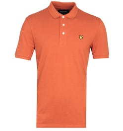 Lyle & Scott Polo Shirt - Orange
