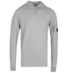 CP Company Pullover Grey Lens Hoodie