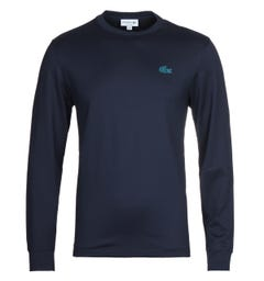Lacoste Homme Navy Long Sleeve T-Shirt