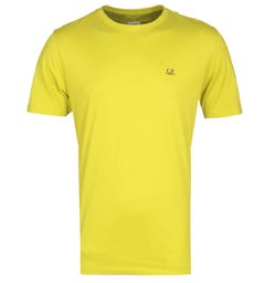 CP Company Goggle Graphic Print Yellow T-Shirt