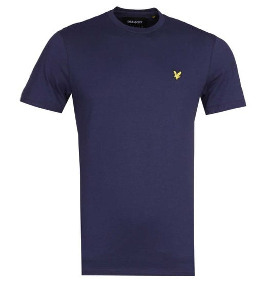 Lyle & Scott Taped Navy T-Shirt