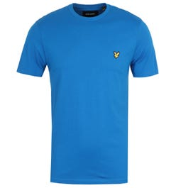 Lyle & Scott Crew Neck Short Sleeve T-Shirt - Bright Cobalt