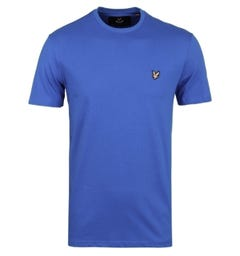 Lyle & Scott Lake Blue Classic Crew Neck T-Shirt