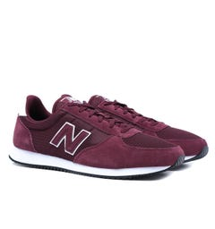 New Balance 220 Burgundy Suede Trainers