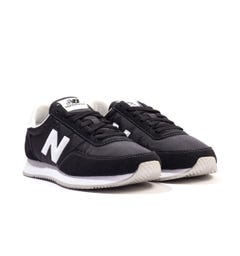 New Balance 720 Suede & Mesh Trainers - Black