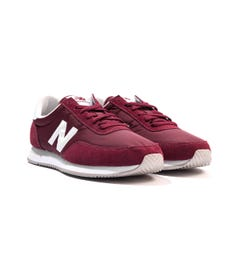 New Balance 720 Suede & Mesh Trainers - Burgundy