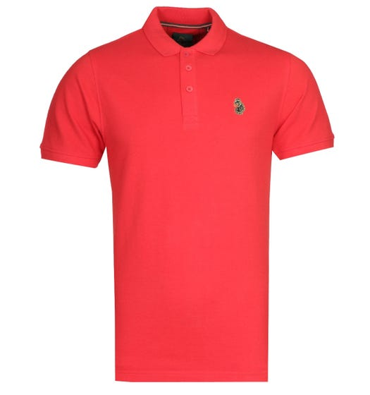 LUKE 1977 Williams City Red Polo Shirt