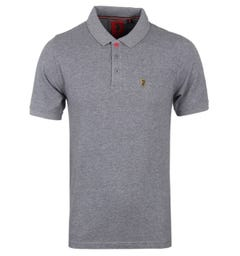 Luke 1977 Williams Polo Shirt - Mid Grey