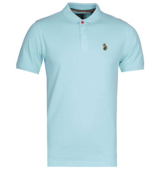 LUKE 1977 Williams Pure Sky Polo Shirt