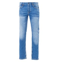 Luke 1977 Vacuums Slim Tapered Fit Jeans - Mid Vintage Blue