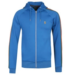 Luke 1977 Dalgliesh Blue Zip-through Hoodie