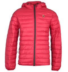 Luke 1977 Southy Red Quilted Jacket