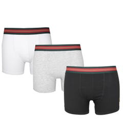 Luke 1977 Multi 3 Pack Boxer Shorts