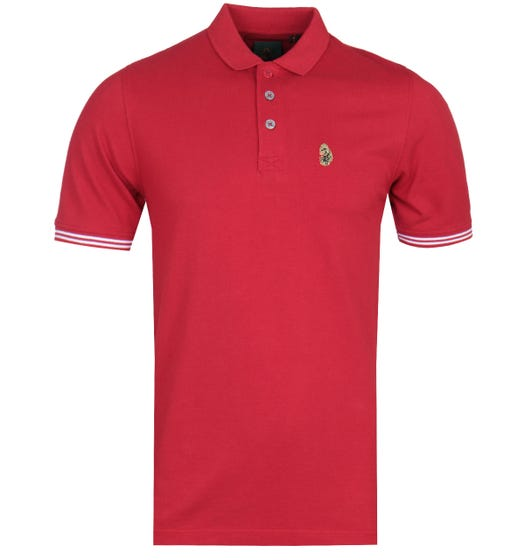 Luke 1977 New Mead Red Polo Shirt