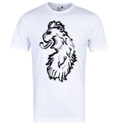 Luke 1977 Amazing Flocker White Printed T-Shirt