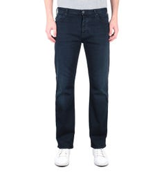 Emporio Armani J21 Regular Fit Dark Blue Denim Jeans