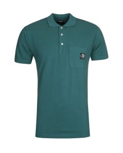 Diesel T-Worky Green Polo Shirt