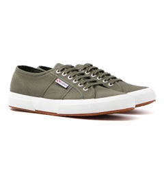 Superga 2750 Cotu Classic Green Sherwood Canvas Trainers